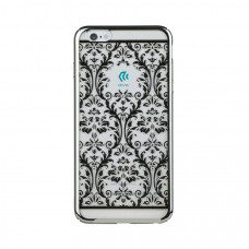 Накладка Devia Crystal Baroque для iPhone 6/6S PLUS - Silver