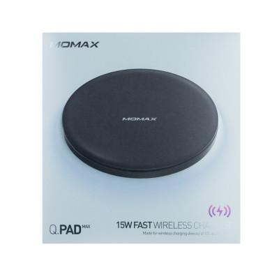 БЗУ Momax Q.Pad Max 15W Ultra Slim Wireless Charger