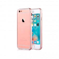 Алюминиевый Бампер для iPhone 6 Comma Aluminium Bumper - Rose Pink