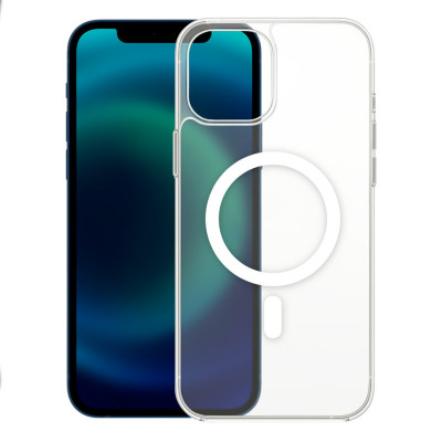 Чехол Devia Magnetic для iPhone 12 Pro Max with MagSafe - Clear