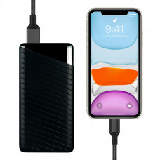 Внешний аккумулятор Devia Elegant J1 Business 10000mah - Black