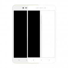 Защитное стекло Dismac Silk Screen Glass для Xiaomi Redmi Note 5A - White