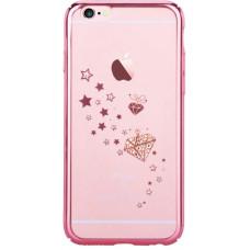 Накладка Devia Crystal Starry для iPhone 6/6S - Rose Gold