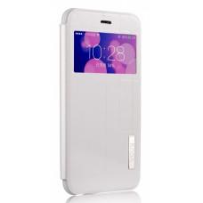 Чехол-книжка для iPhone 6/6S PLUS Vouni Plaid - White