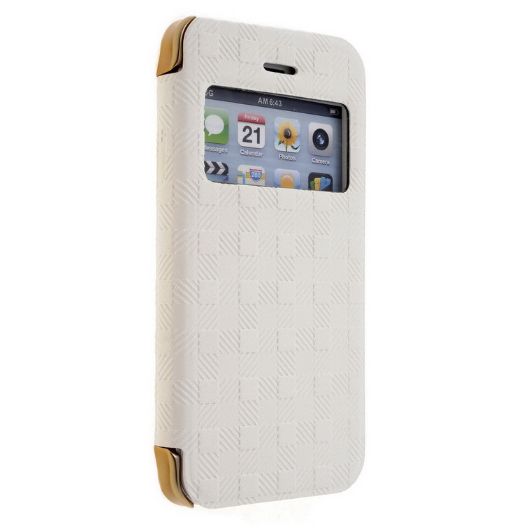 Momax Haute Couture Collection Case for iPhone 5/5S White