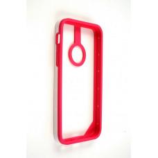 Бампер для iPhone 5C Baseus New Age Bumper - (Red/White)