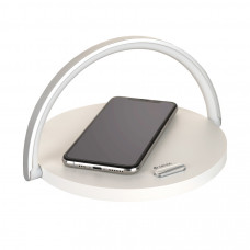 Лампа Devia Moon Wireless Charge - White