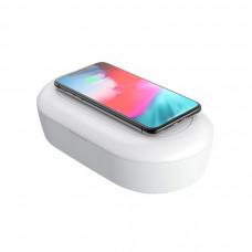Дезинфектор Devia с беспроводной зарядкой для смартфона - Белый