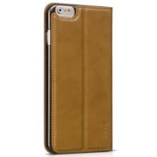 Чехол-книжка для iPhone 6/6S PLUS Hoco Luxury Series Leather Case - Brown
