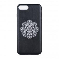 Накладка Devia Flower Embroidery Case для iPhone 7/8 PLUS - Black