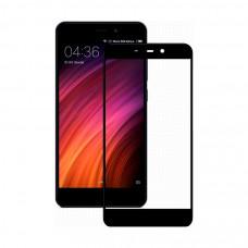 Защитное стекло Dismac Silk Screen Glass для Xiaomi Redmi 4A - Black