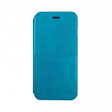 Чехол-книжка для iPhone 6/6S PLUS Hoco Crystal Series Fashion Leather Case - Blue