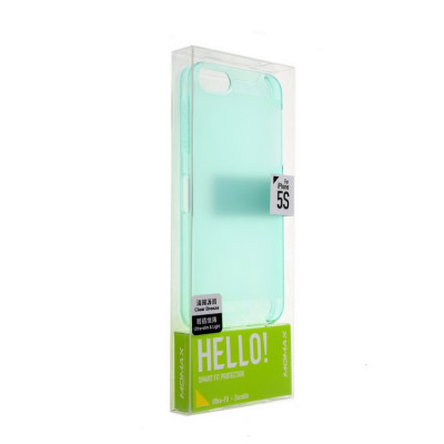Momax Clear Breeze Case for iPhone 5/5S Light Blue