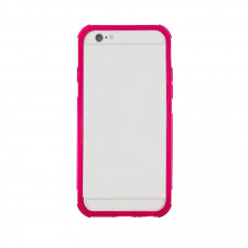 Бампер для iPhone 6/6S Hoco Shock Proof Silicone Bumper - Pink
