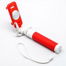 Монопод Devia 360 Degree Selfie Stick Wire - Red