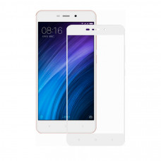 Защитное стекло Dismac Silk Screen Glass для Xiaomi Redmi 4A - White