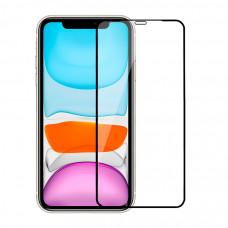 Защитное стекло Devia Real Series 3D Curved Full Screen Tempered Glass для iPhone 11 - Black