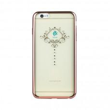 Накладка Devia Crystal Iris для iPhone 6/6S PLUS - Rose Gold