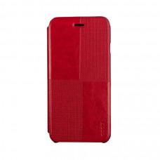 Чехол-книжка для iPhone 6/6S PLUS Hoco Crystal Series Fashion Leather Case - Red