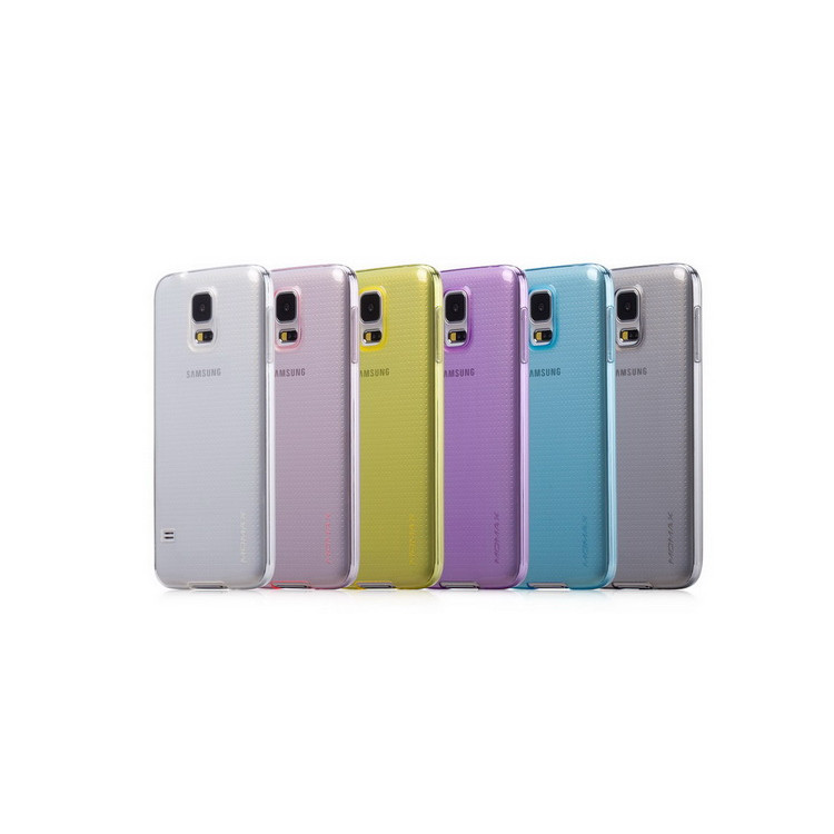 Momax Clear Twist Hello for Galaxy S5 Black
