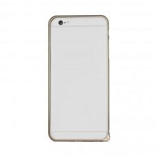 Алюминиевый Бампер для iPhone 6/6S PLUS Momax Air Frame - Gold