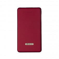Внешний аккумулятор Devia Elegant Mini Power Bank 10000mAh - Red