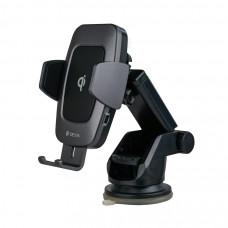 Автодержатель Devia Navigation Magnetic Wireless Charger Car Holder - Black