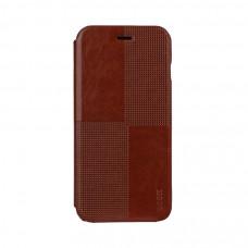 Чехол-книжка для iPhone 6/6S PLUS Hoco Crystal Series Fashion Leather Case - Brown