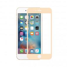 Защитное стекло Devia Jade 2 Full Screen Tempered Glass для iPhone 6/6S  - Champagne Gold