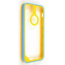 Бампер для iPhone 5C Baseus New Age Bumper - (Yellow/Blue)