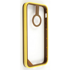 Бампер для iPhone 5C Baseus New Age Bumper - (Brown/Yellow)
