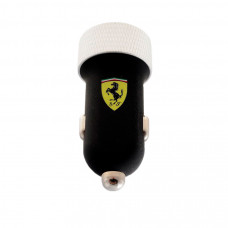 Ferrari Car Charger with Apple Connector 2.1A (Black)