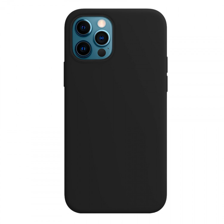 Чехол Devia Nature Silicone Case для iPhone 12/iPhone 12 Pro - Black