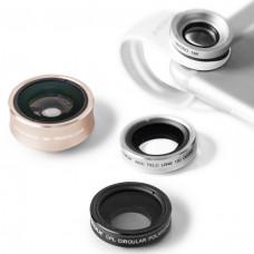 Линзы Momax X-Lens 4 в 1 Superior Lens Set