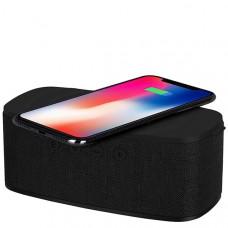 Колонка Momax Q.Zonic Wireless Charging Bluetooth Speaker - Black