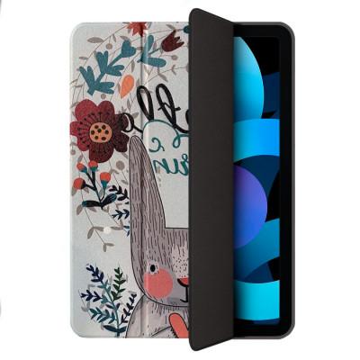 Чехол Comma Lingos Series bunny case with Pencil Slot для Apple iPad Air4 10.9 (2020) - Brown
