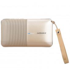 Колонка Momax Zonic 2 in 1 Wireless Speaker Powerbank - Gold