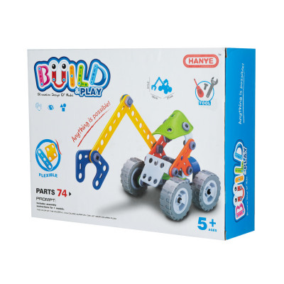 Набор конструктор Hanye Build&Play 7704 - Mix