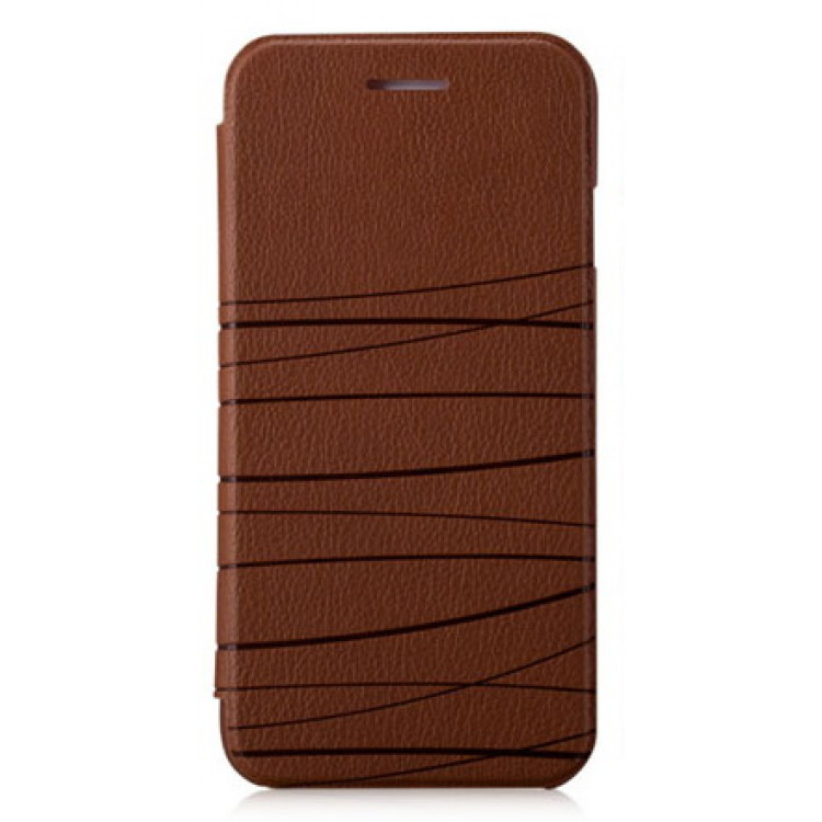 Чехол-книжка для iPhone 6/6S Momax Flip Diary Elite Series - Brown