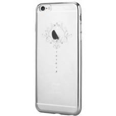 Накладка Devia Crystal Iris для iPhone 6/6S - Silver