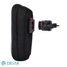 Держатель Devia Universal Bicycle Waterproof Bag Suit - Black