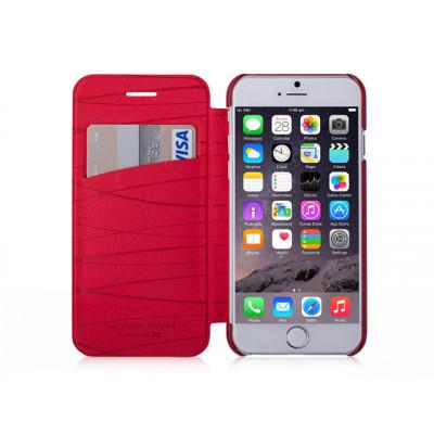 Чехол-книжка для iPhone 6/6S PLUS Momax Flip Diary Elite Series - Grey