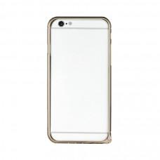 Алюминиевый Бампер для iPhone 6/6S Momax Air Frame - Gold