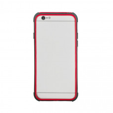 Бампер для iPhone 6/6S Hoco Double Color Bracket Bumper - Red