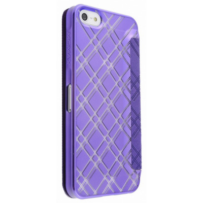 Momax Haute Couture Collection Case for iPhone 5/5S Purple