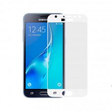 Защитное стекло Dismac Silk Screen Glass для Galaxy J3 2017 - White