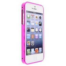 Алюминиевый Бампер для iPhone 5/5S Momax Pro Frame - Red