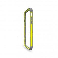 Бампер для iPhone 6/6S Hoco Double Color Bracket Bumper - Yellow