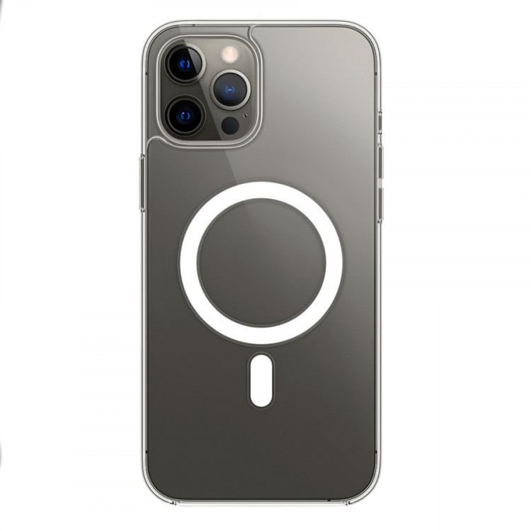 Чехол Devia Magnetic для iPhone 12/iPhone 12 Pro with MagSafe - Clear