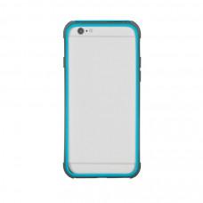 Бампер для iPhone 6/6S Hoco Double Color Bracket Bumper - Blue